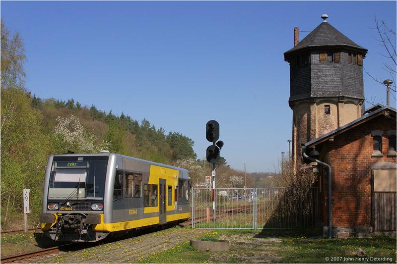Die Unstrutbahn in Nebra