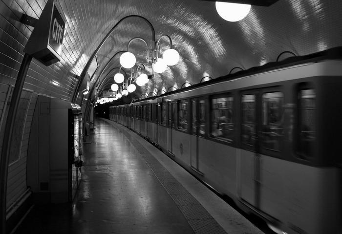 Die Untergrundbahn