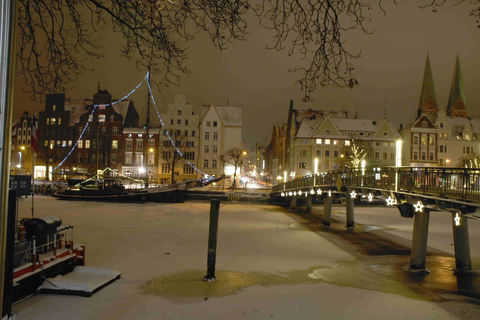 Die Untertrave in Lübeck