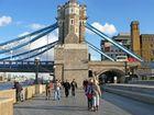 Die Verankerung der Tower Bridge