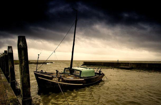 Die verfluchte und geliebte Zuyderzee (heutzutage IJsselmeer)