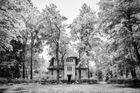 Die verlassene Villa im Wald