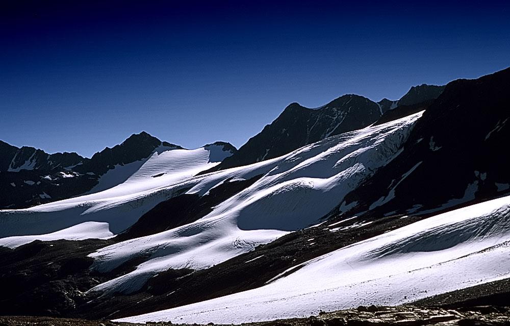 Die verschwindenen Gletscher von Ötztal