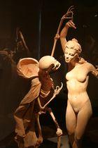 Die Versuchung - Holzfiguren - Daetz - Centrum Lichtenstein in Sachsen