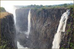 die VICTORIA -FAELLE... in Sambia +5Fotos