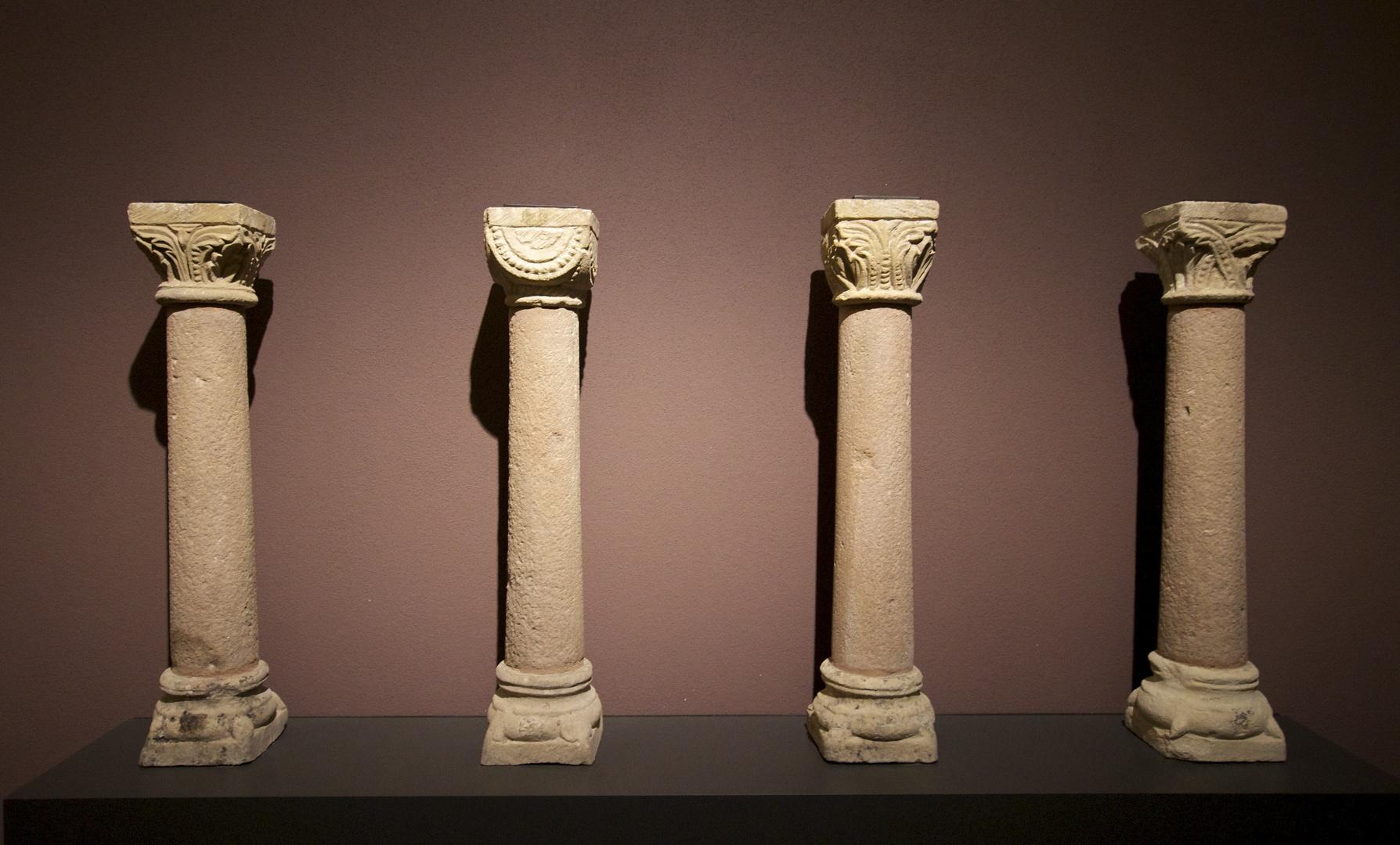 Die vier Säulen.