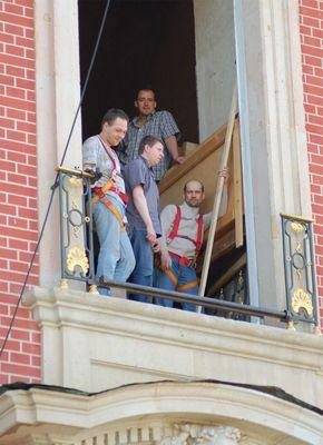 Die vier von der Baustelle