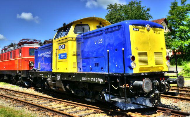 Die VT 125 der BOB