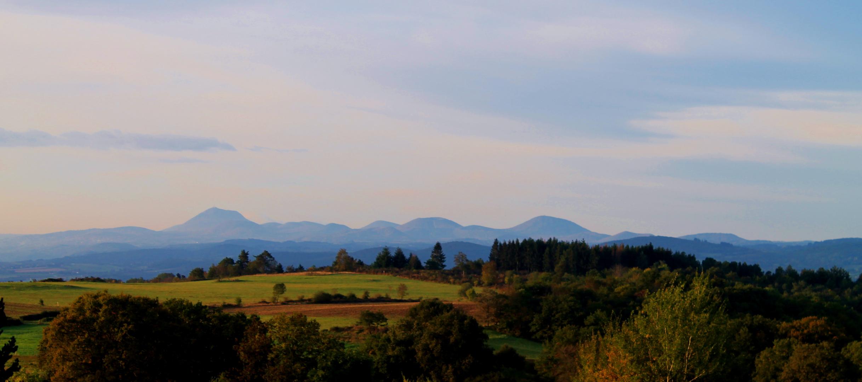 Die Vulkanlandschaft der Auvergne