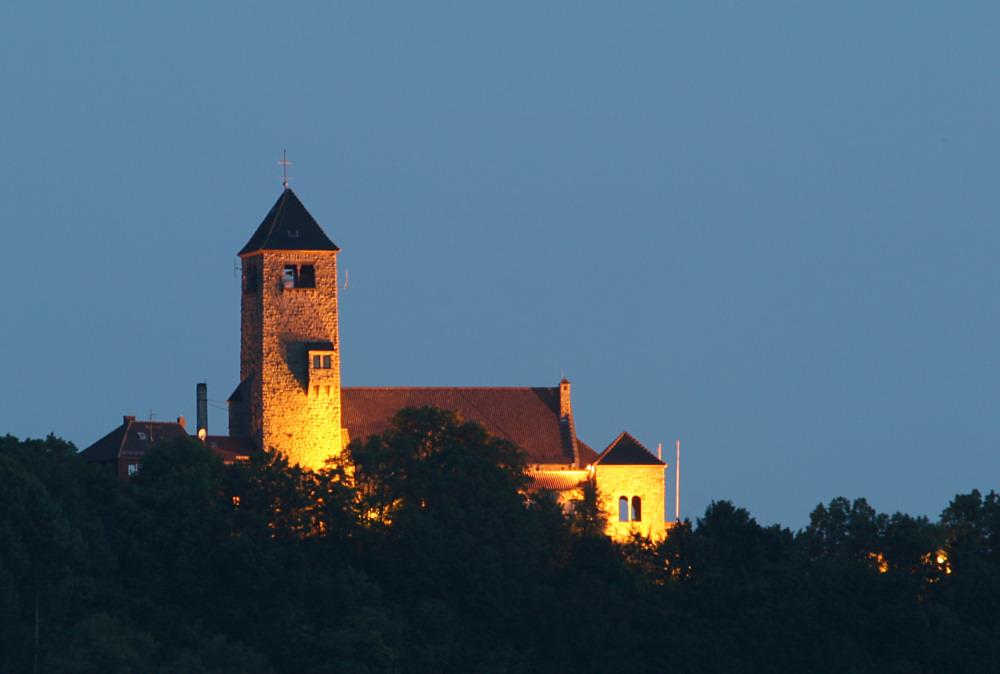 Die Wachenburg über Weinheim