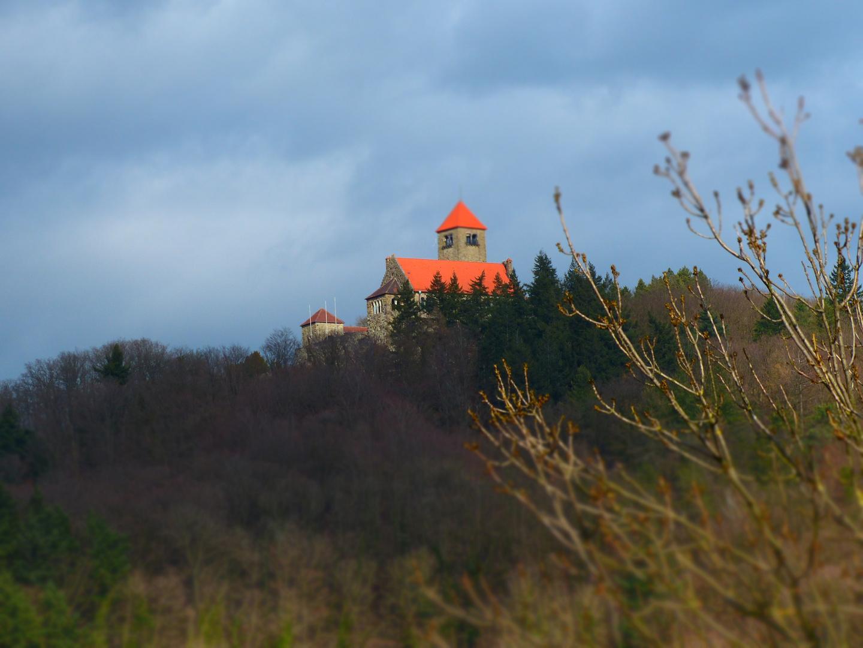 Die Wachenburg von der Windeck aus fotografiert