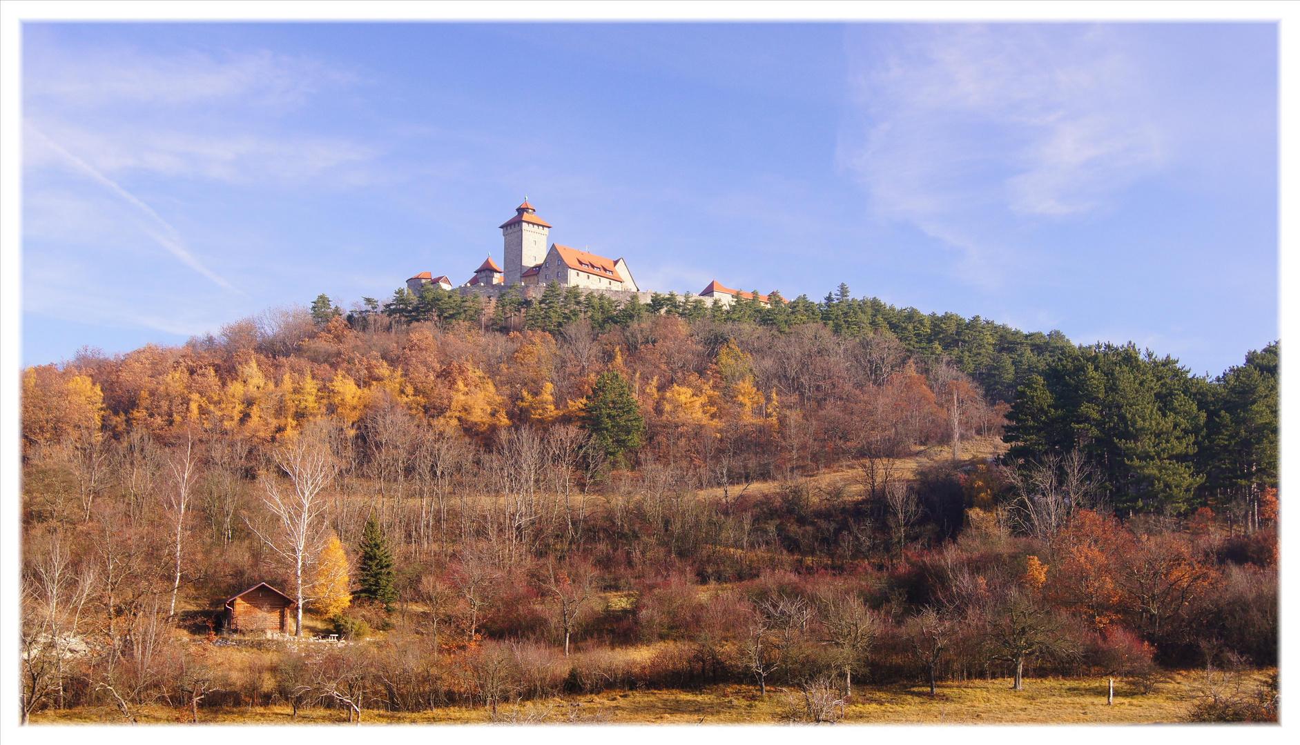Die Wachsenburg im Herbst