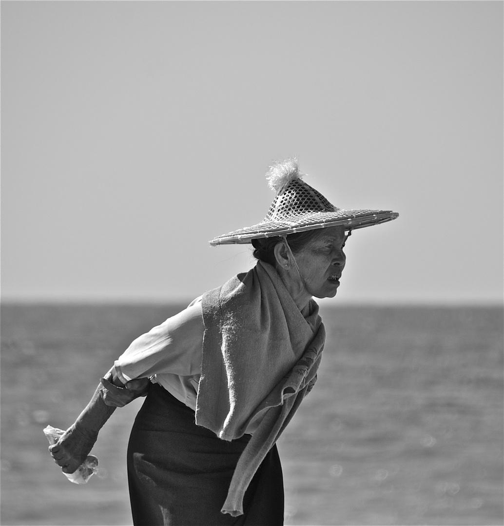 die wächterin des strandes