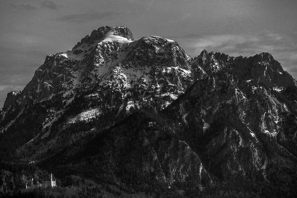 Die wahre Größe von Schloß Neuschwanstein