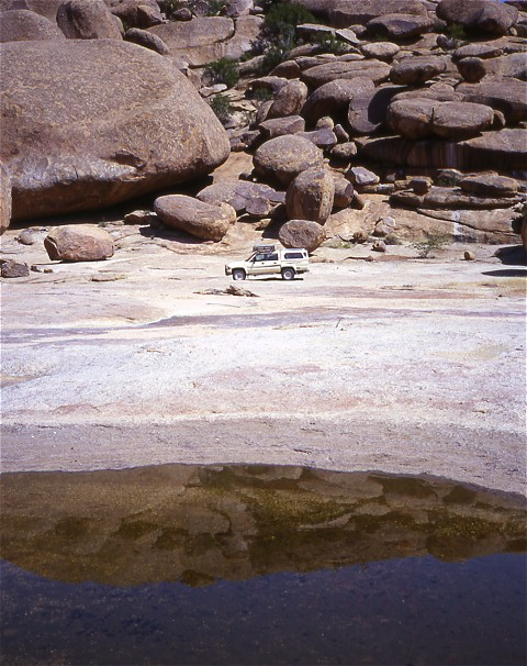 Die wahrscheinlich größten Kieselsteine der Welt