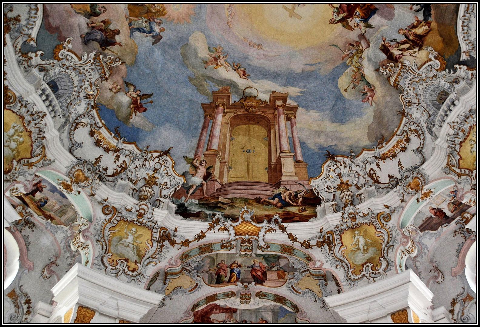 Die Wallfahrtskirche auf der Wies ( 02 )