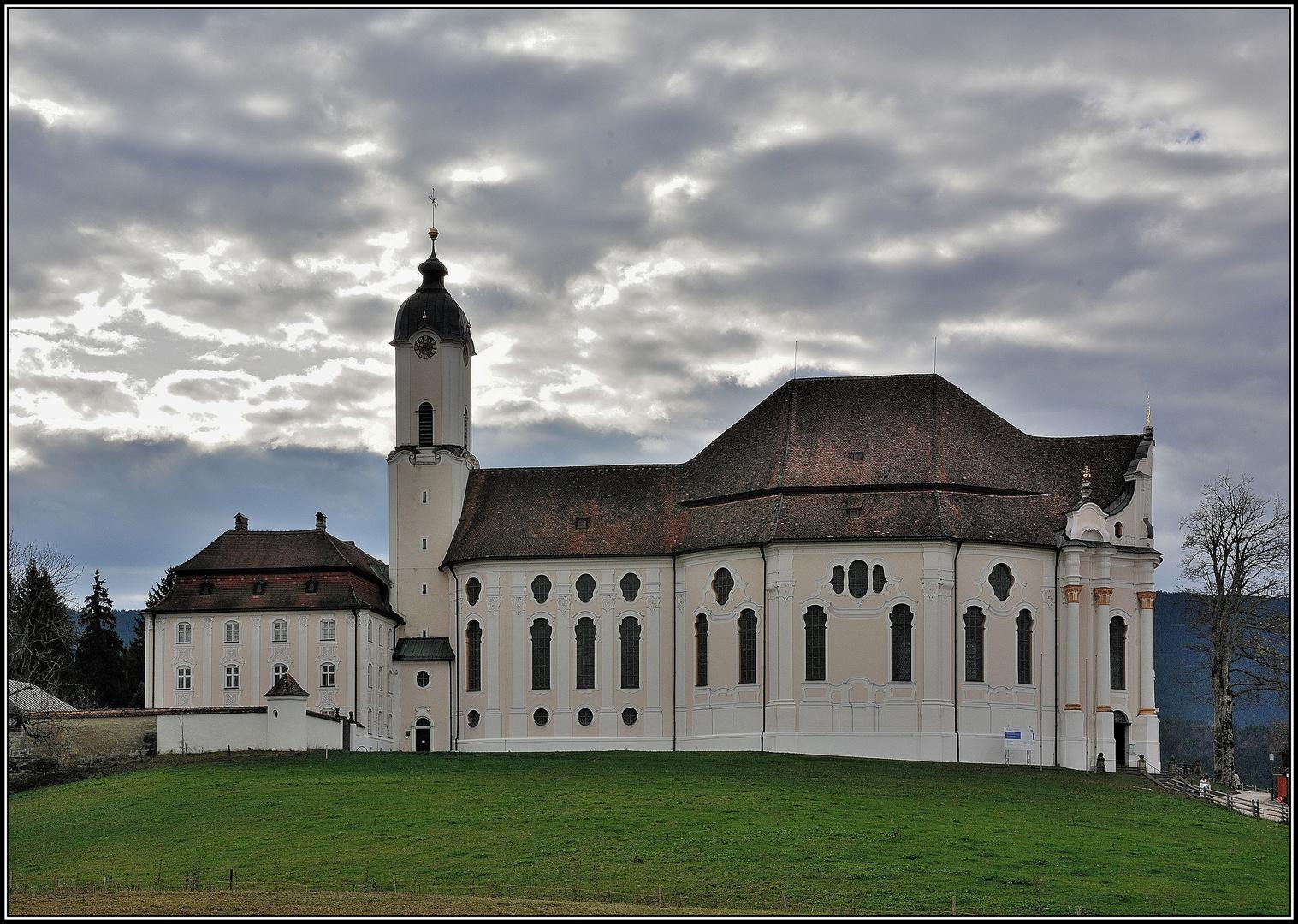 Die Wallfahrtskirche auf der Wies
