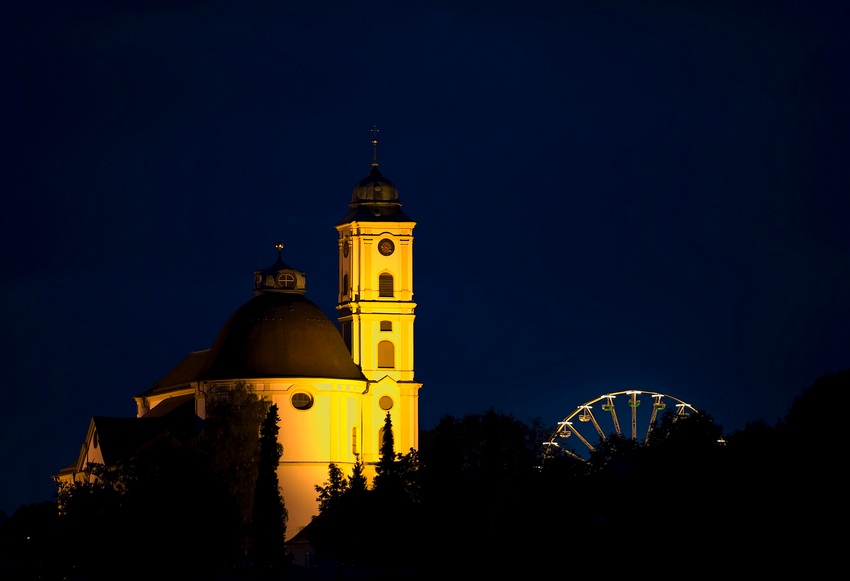 Die Wallfahrtskirche Herrgottsruh in Friedberg
