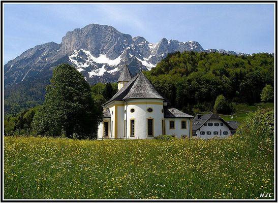 Die Wallfahrtskirche in Ettenberg