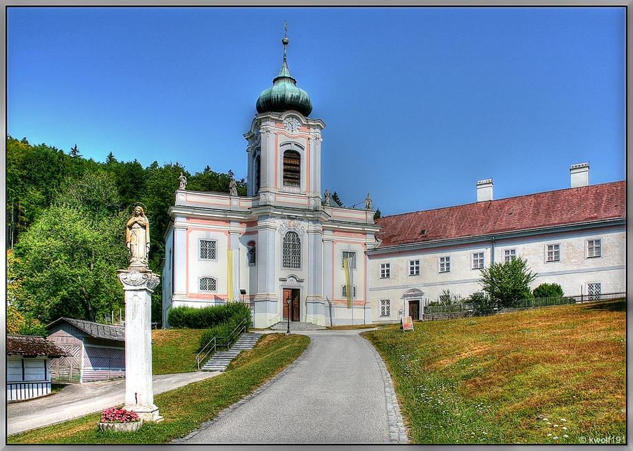 Die Wallfahrtskirche Mariahilfberg