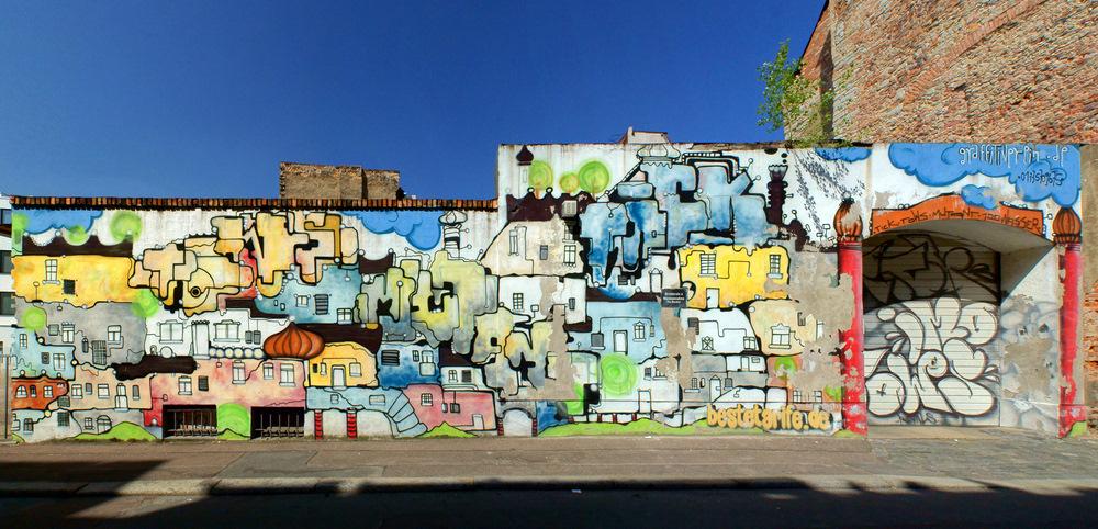 'Die' Wand...