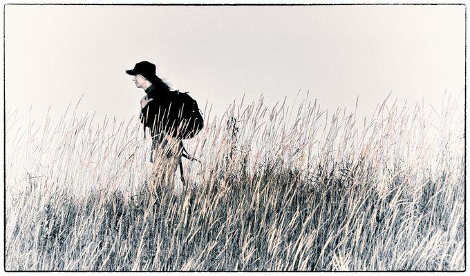 Die Wanderin - La randonneuse