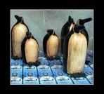 die wanderung der pinguine auf der straße der ölsardinen