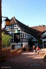 Die Wartburg - Einblicke in den ersten Burghof