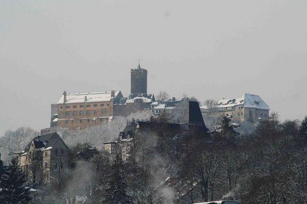 Die Wartburg im Winter 2005