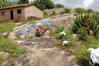 Die Wasche trockenen in Brazil