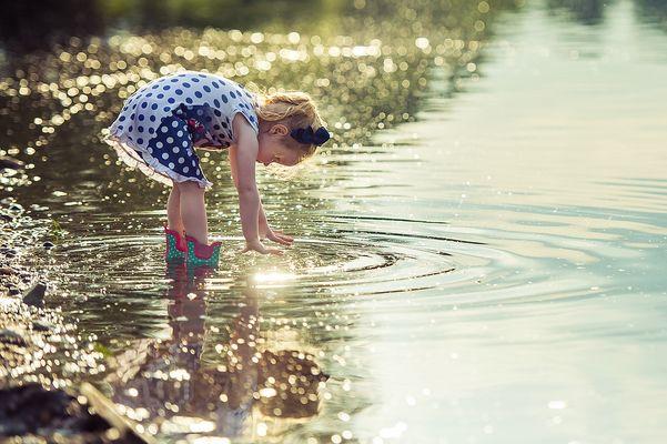 ...die Wasserbeschwörerin....