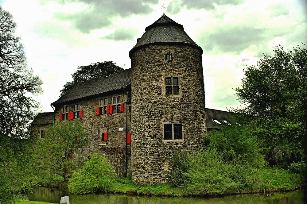 die Wasserburg tn Ratingen.....