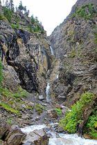 Die Wasserfälle im Sertigtal