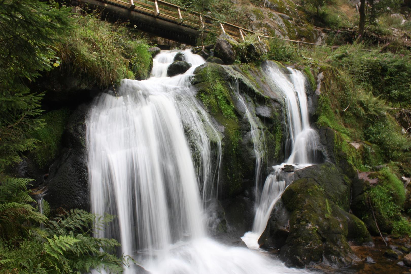 Die Wasserfälle in Triberg