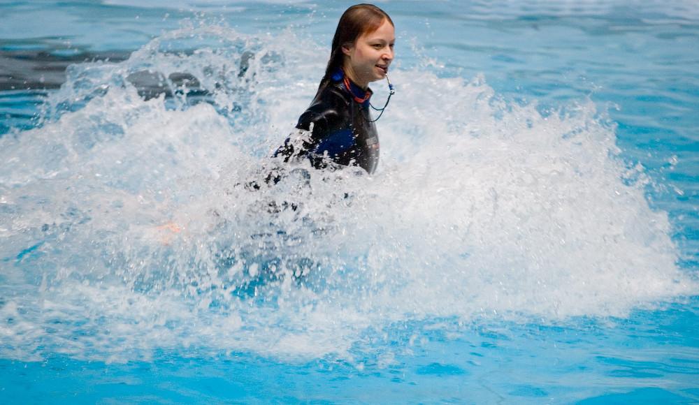 Die Wasserläuferin
