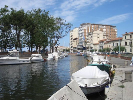 Die Wasserstraßen von Viareggio