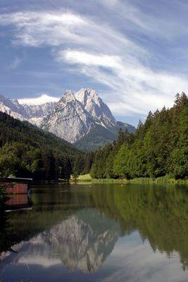 Die Waxensteine bei Garmisch