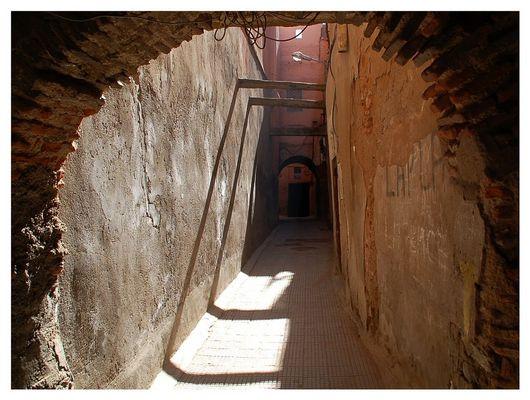 Die Wege in der Medina