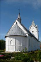die weiße Kirche von Brøns