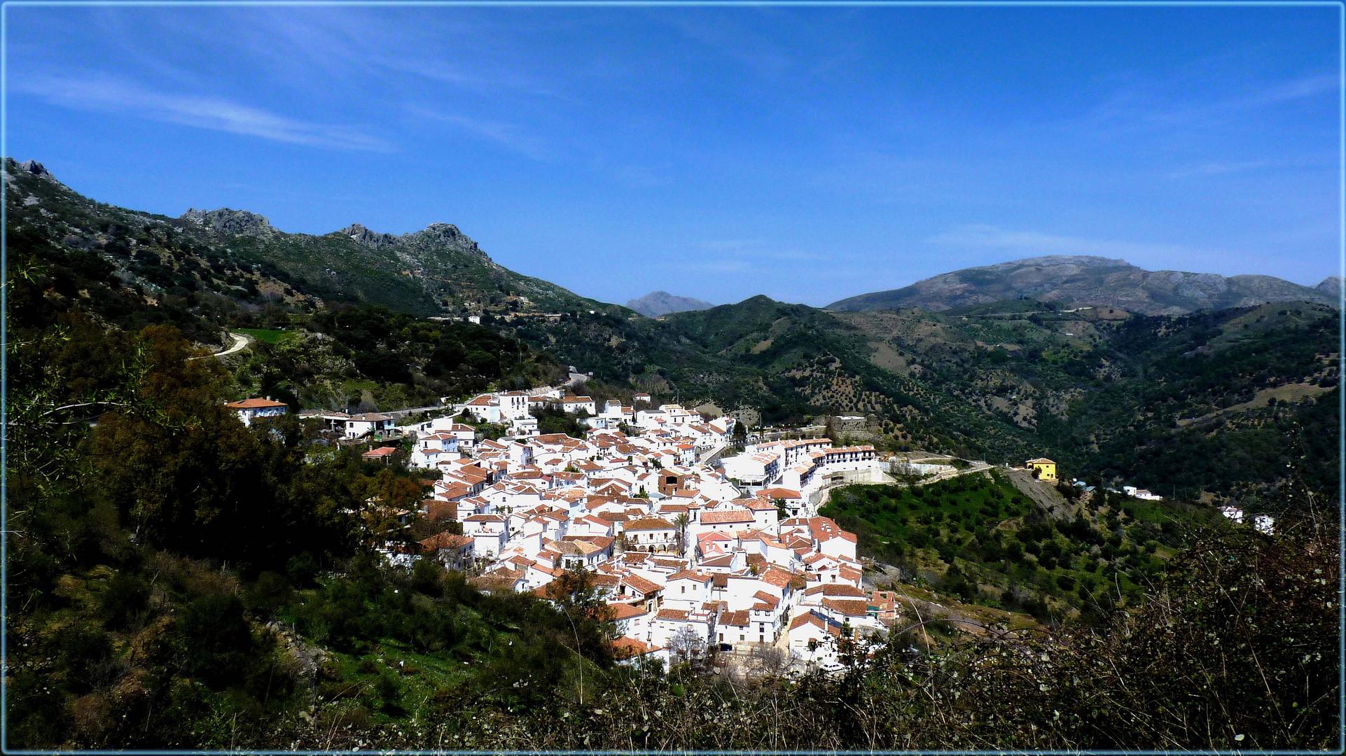 die weissen Dörfer Andalusiens .............