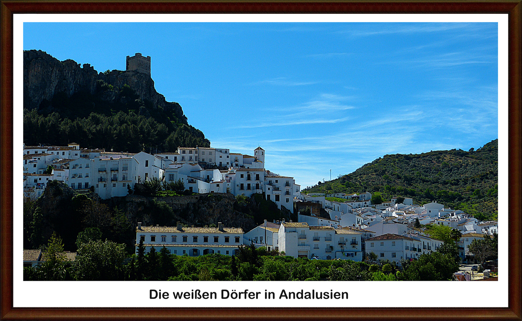Die weißen Dörfer in Andalusien