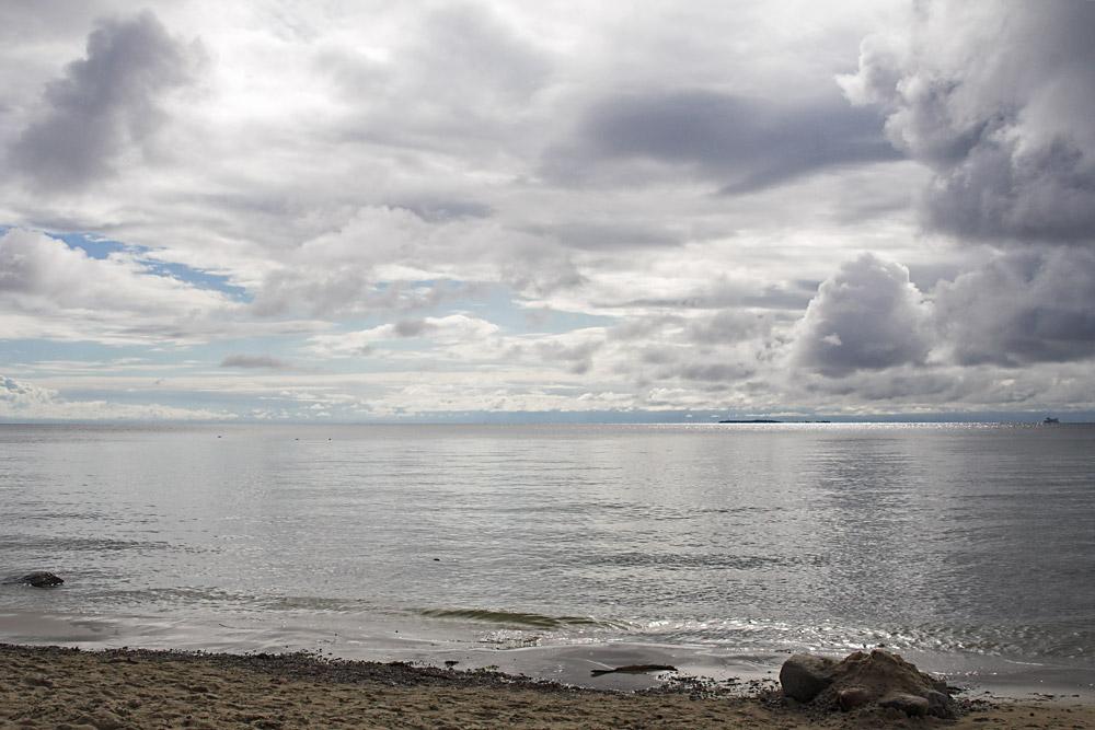 Die Weite der See und des Himmels