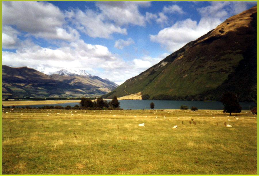 Die Weiten Neuseelands