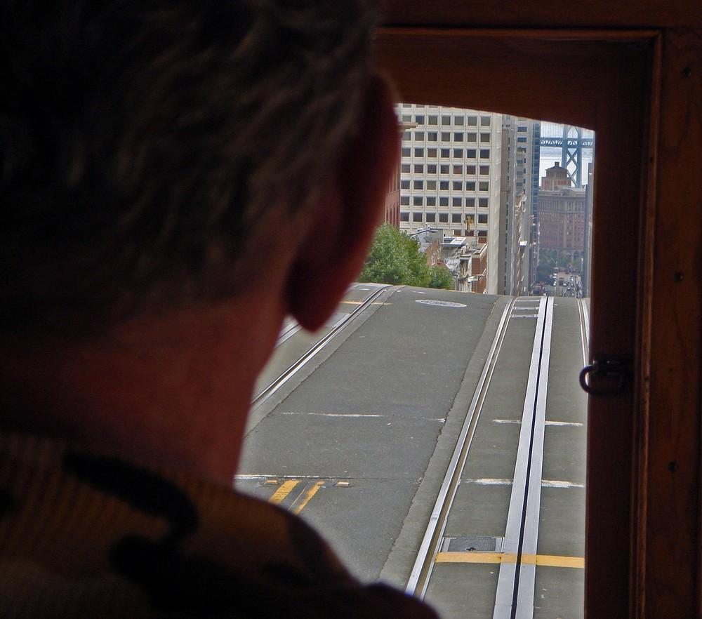 Die Welt aus der Sicht eines Cable Car Führers...