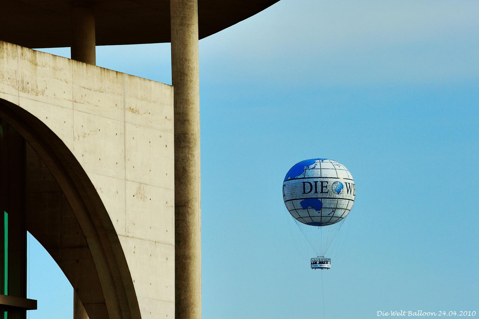 Die Welt Balloon (24.04.2010)