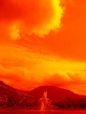 Die Welt brennt