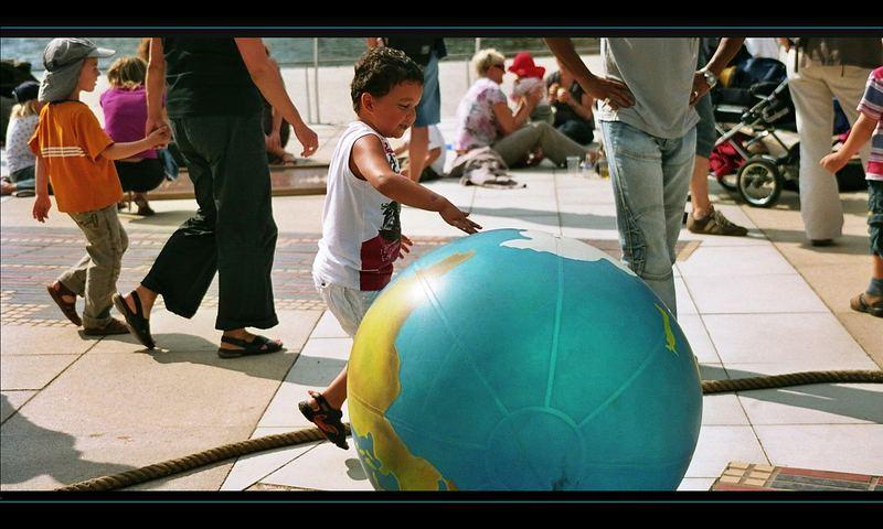 Die Welt gehört in Kinderhände...
