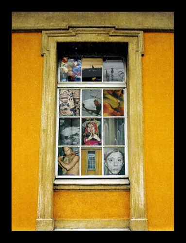 Die Welt im Fenster