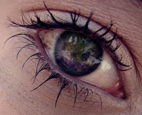 Die Welt in deinen Augen