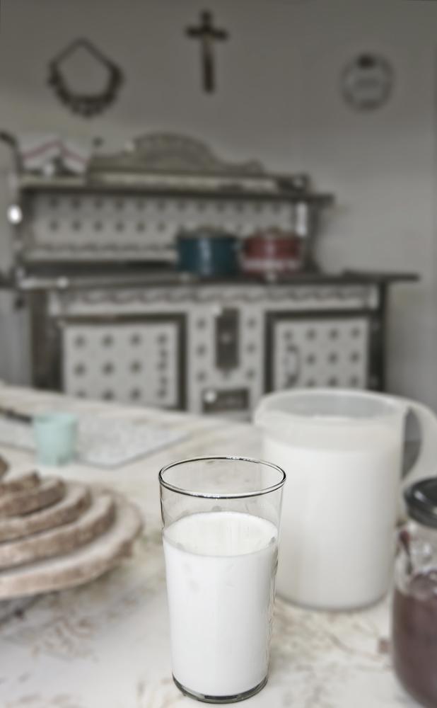 Die Welt in einem Glas Milch...